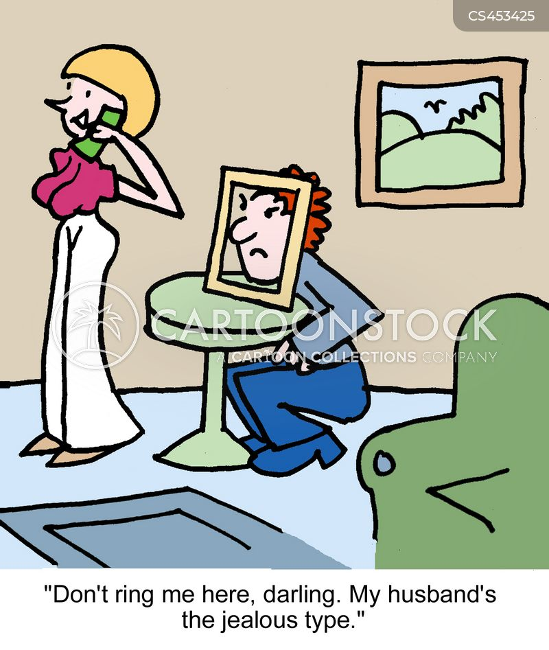 jealous husbands cartoon