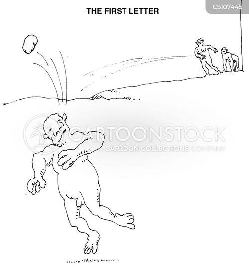 ape man cartoon