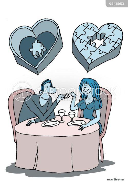 perfect couple cartoon