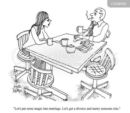 remarrying cartoon