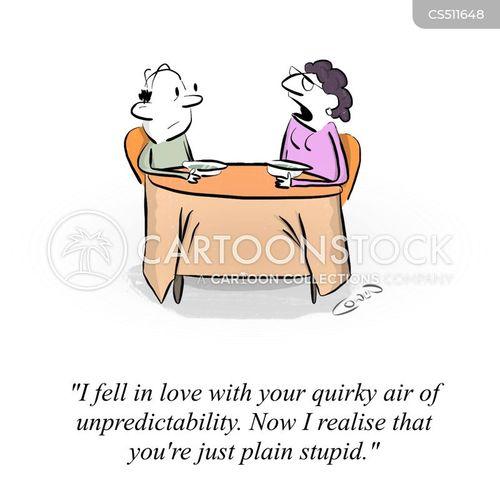 quirky cartoon