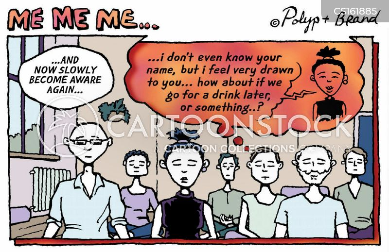 inner thoughts cartoon