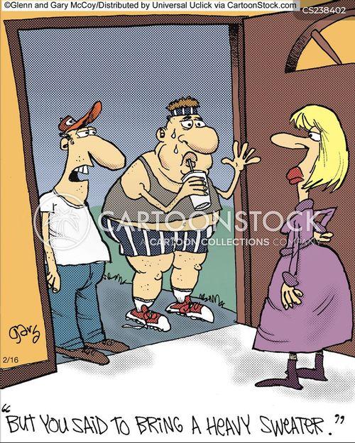 sweated cartoon