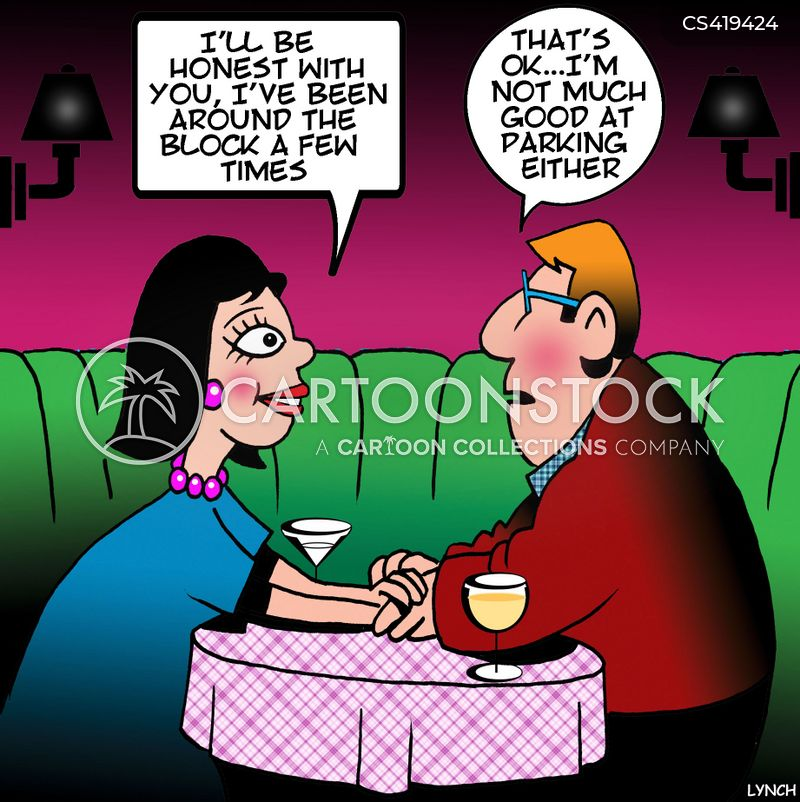past relationship cartoon