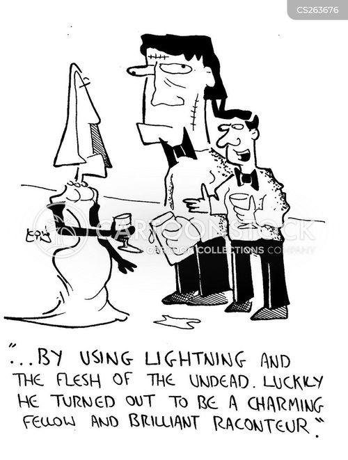 raising the dead cartoon