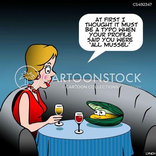 shellfishes cartoon