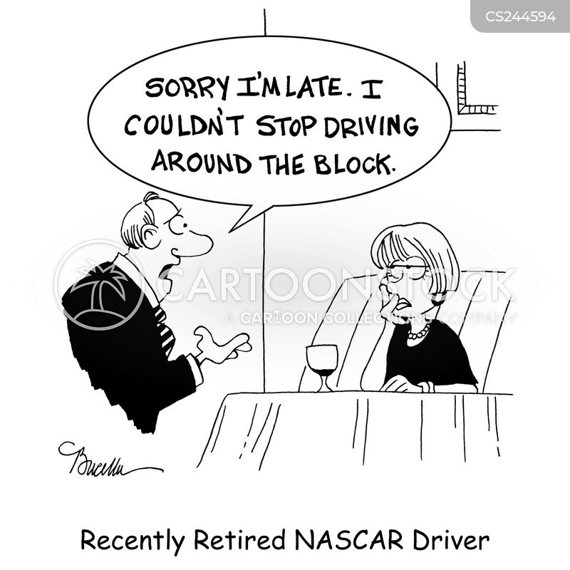 race cars cartoon