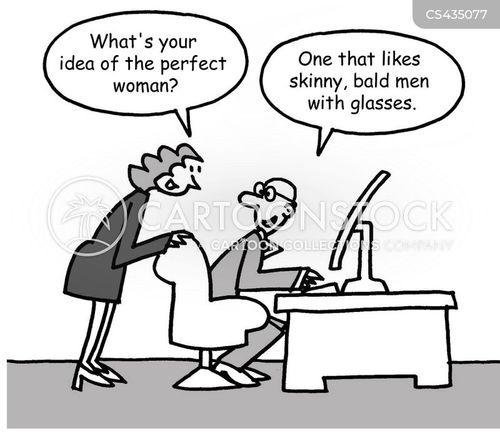perfect woman cartoon