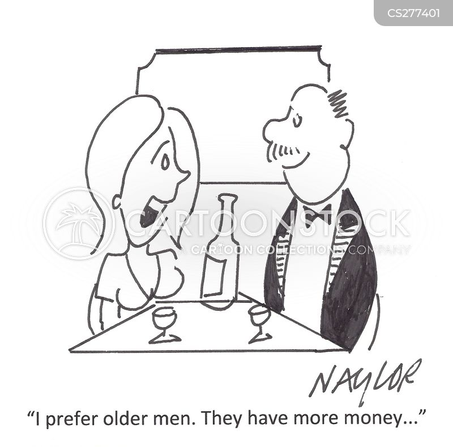 older men cartoon