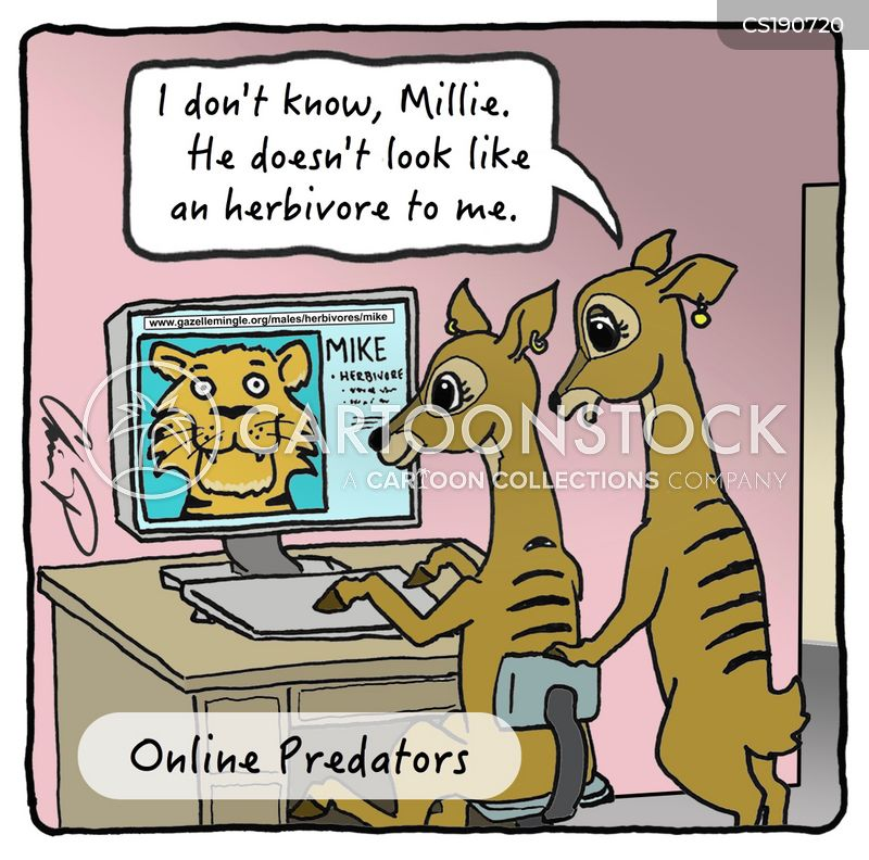Predators on online dating sites