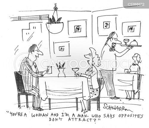 opposites attract cartoon