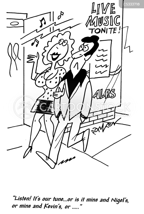 on a date cartoon