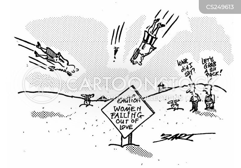 falling out of love cartoon