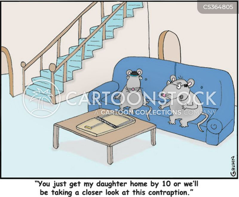 overprotective father cartoon