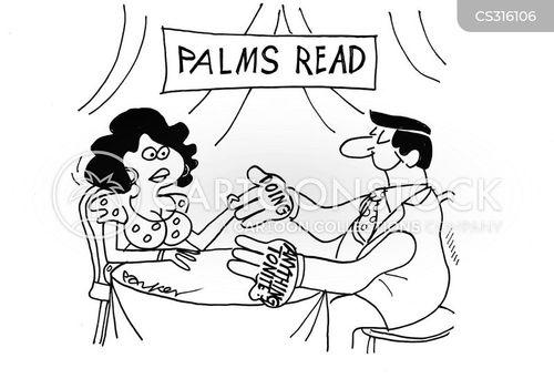 palmists cartoon