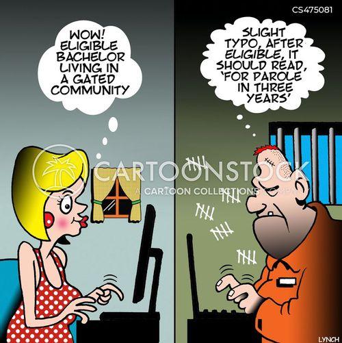 eligible bachelors cartoon