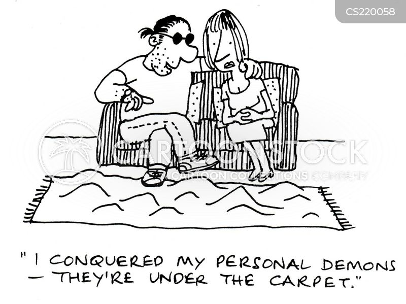 Swept Under The Carpet Cartoon 1 Of 2
