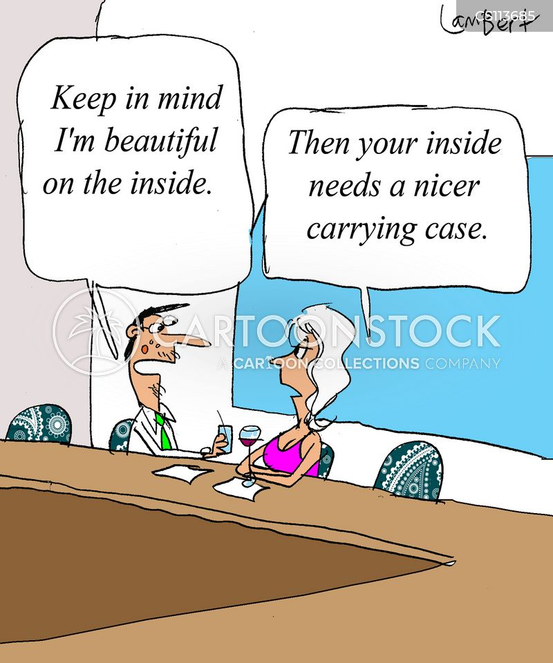 Inner Beauty Cartoons And Comics Funny Pictures From Cartoonstock