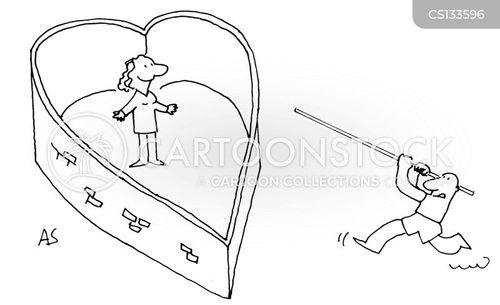 pole-vaults cartoon
