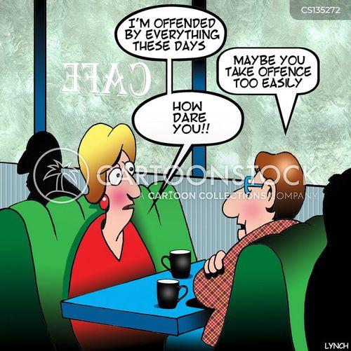 sensitive issue cartoon
