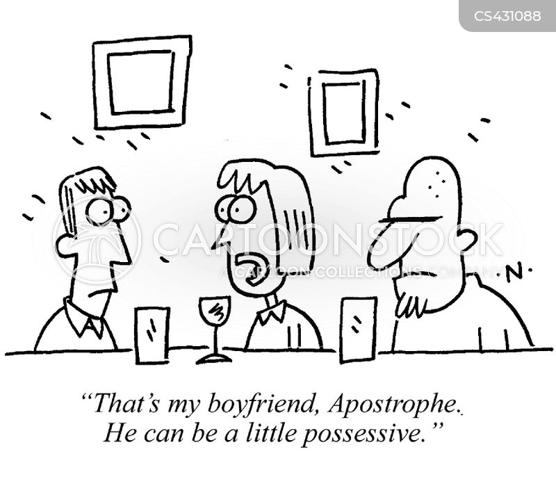 possessive cartoon