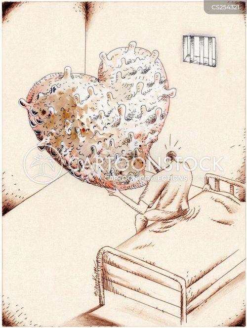 lonely hearts cartoon