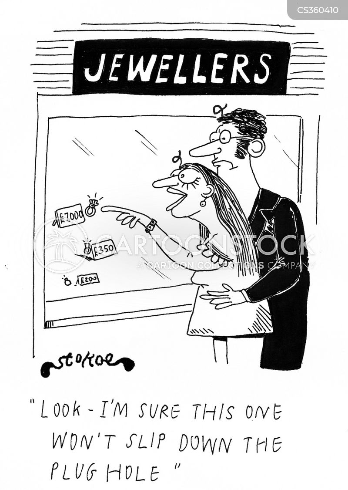jewelery cartoon