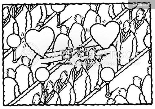 fallen in love cartoon