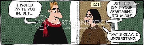 rejecter cartoon