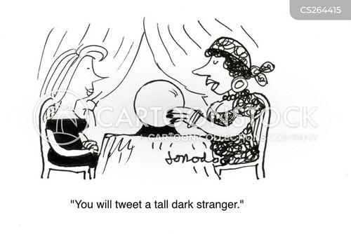 mysterious stranger cartoon
