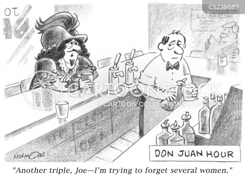 don juan cartoon