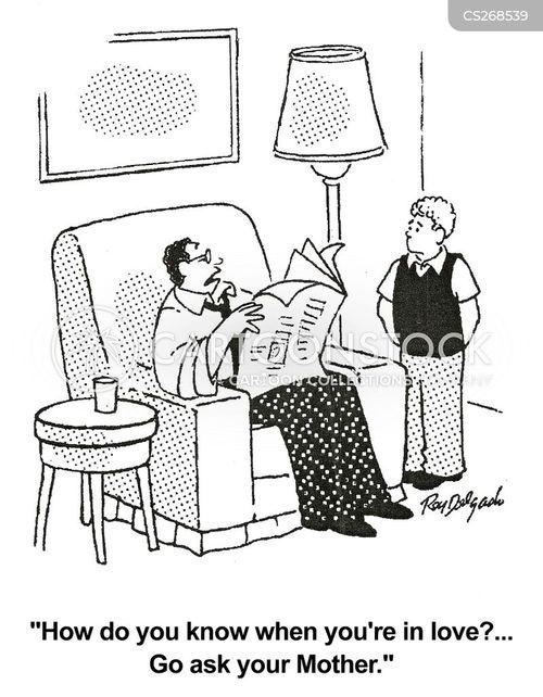 relationship advise cartoon