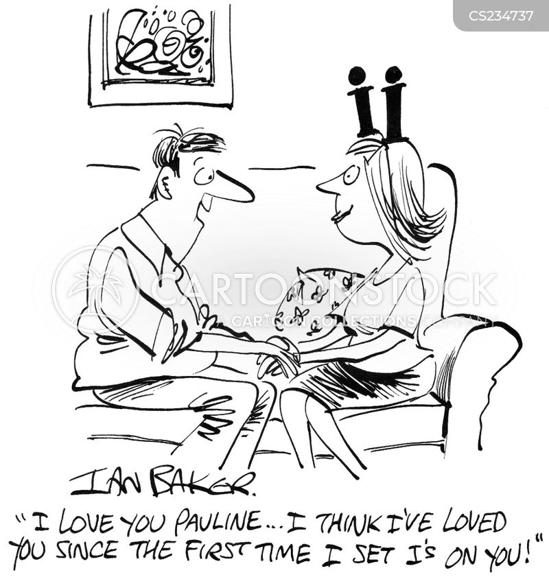besotted cartoon