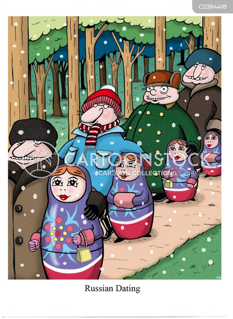 matryoshka doll cartoon
