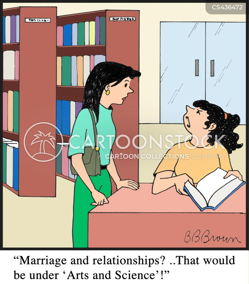 marriage advice cartoon