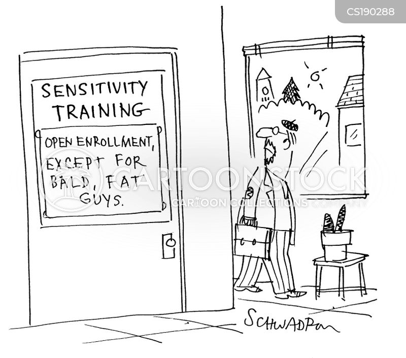 sensitivity training cartoon