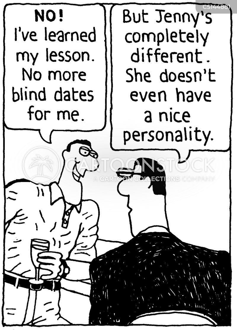 blind date catch up Blind dates are so tough why would your friends set you up with a guy when you don't even know if he's emo what if he shows up at your door in a preppy out.