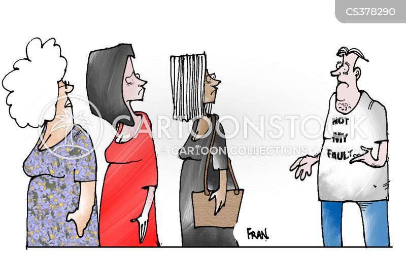 at fault cartoon