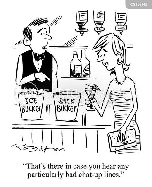 ice bucket cartoon