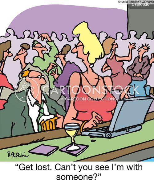 chatroom cartoon