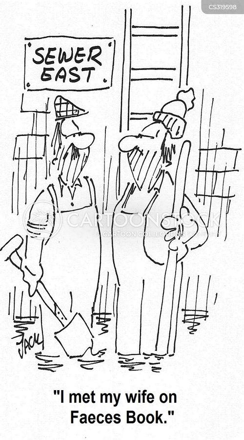 faeces cartoon