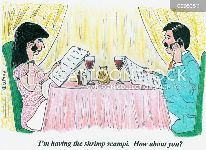 shrimps cartoon