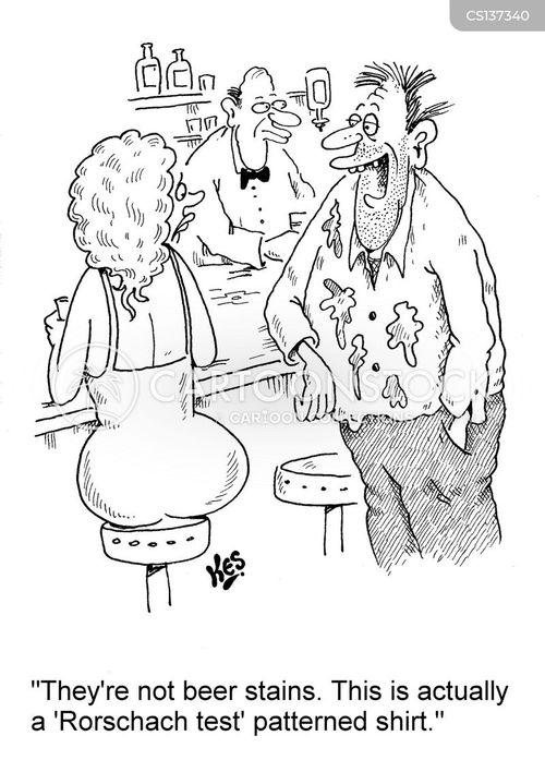 ink blot cartoon