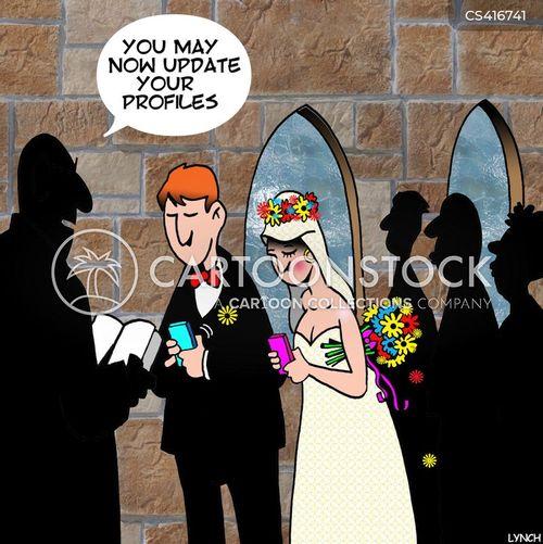 marital statuses cartoon