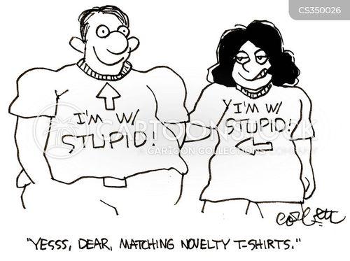 matching shirt cartoon