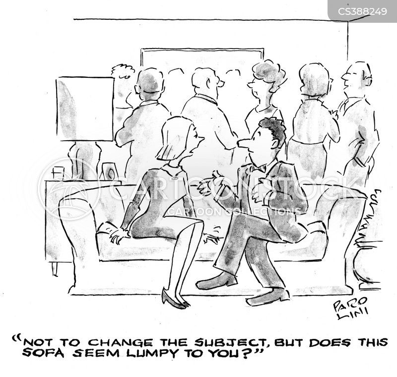 changing the subject cartoon