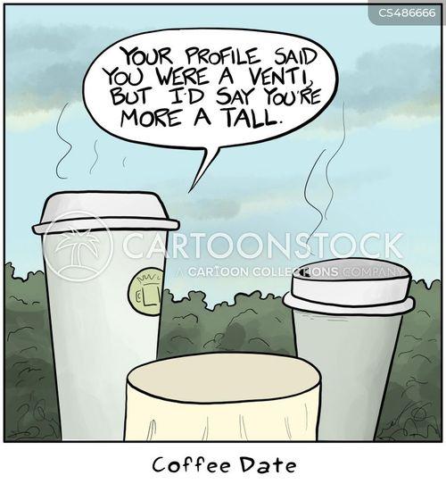 coffee sizes cartoon