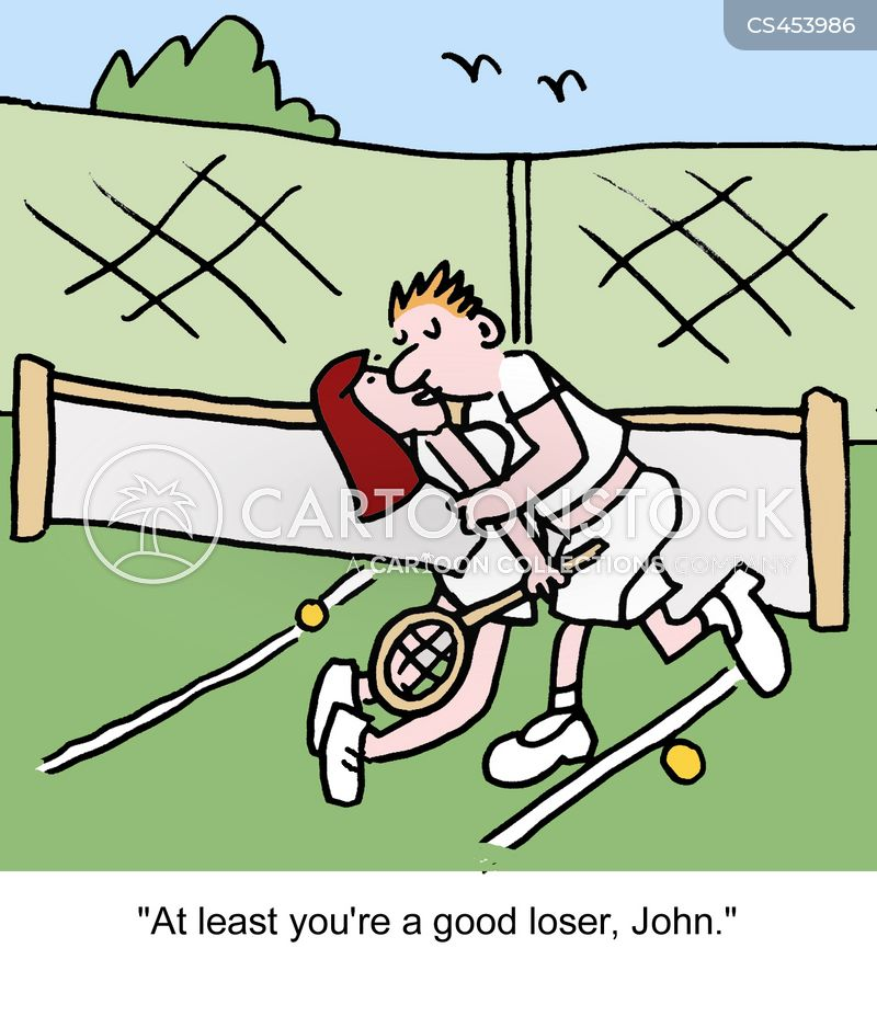 bad loser cartoon