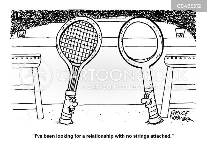 no strings attached cartoon