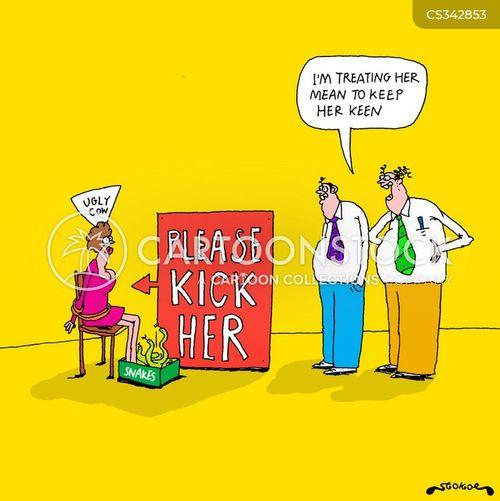 keen cartoon